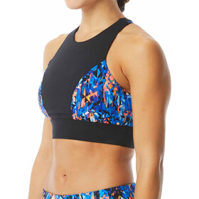 TYR Anzan Amira Top Mujer, blue/coral